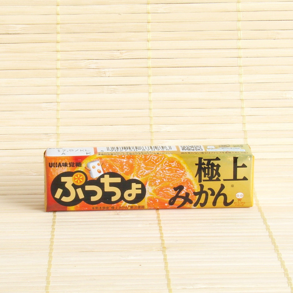 Puccho Soft Candy Chews - Mikan (Japanese Tangerine)