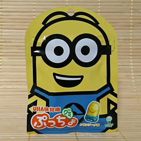 Puccho Mini Gummy Candy - Minions Lemon Soda