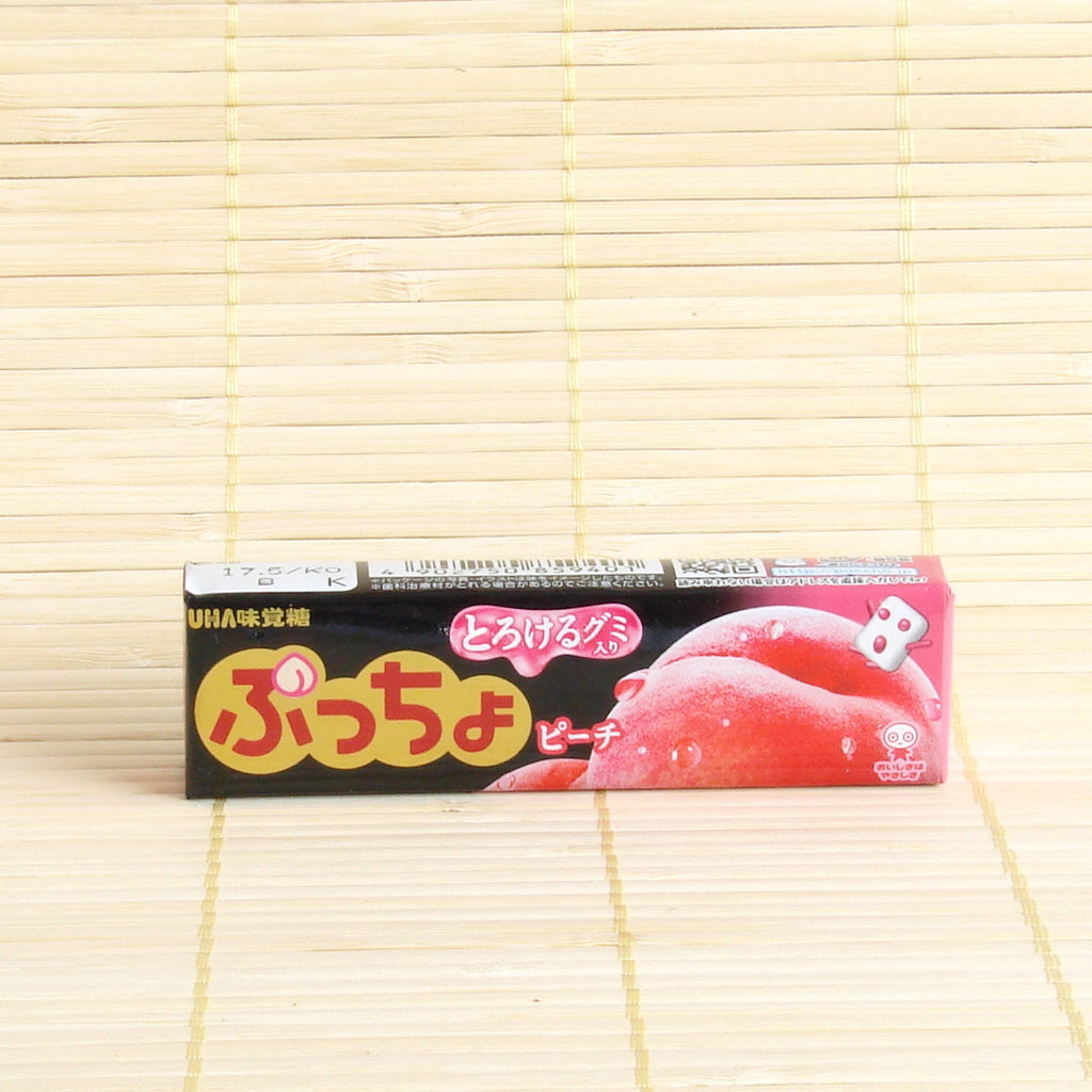 Puccho Soft Candy Chews - Peach