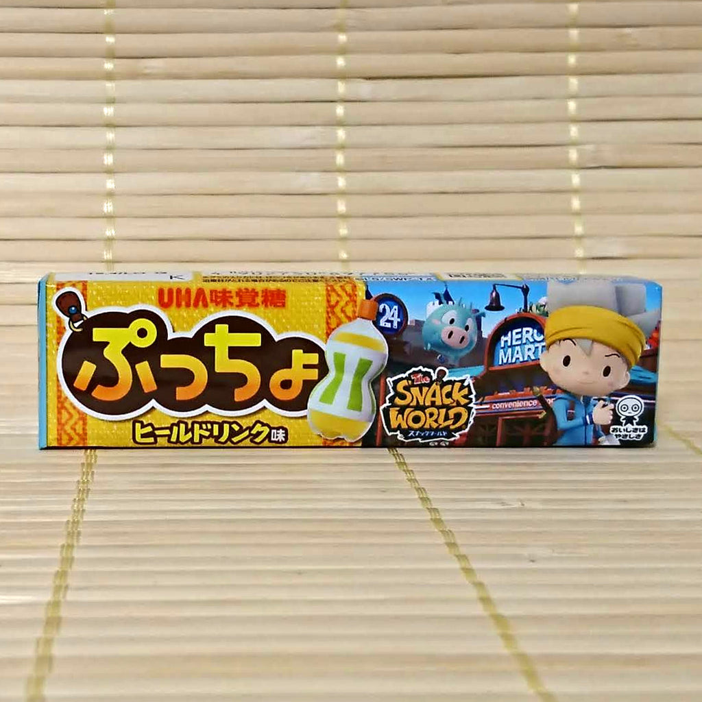 Puccho Soft Candy Chews - Snack World Energy Drink