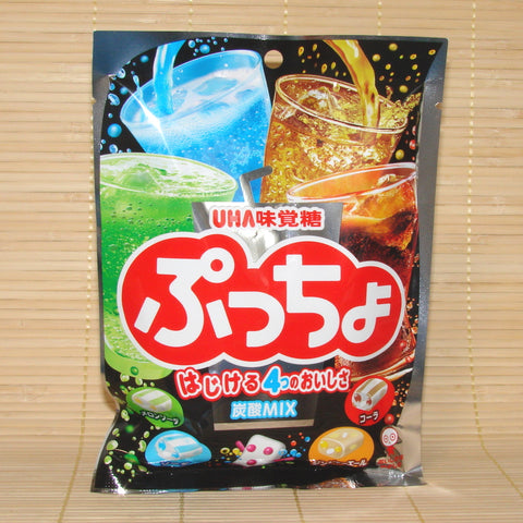 Puccho Soft Candy Chews - 4 SODA Mix Bag