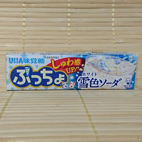 Puccho Soft Candy Chews - Snow White Soda