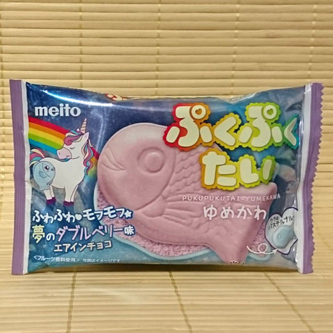 Puku Puku Tai BERRY Chocolate Wafer 'Taiyaki'