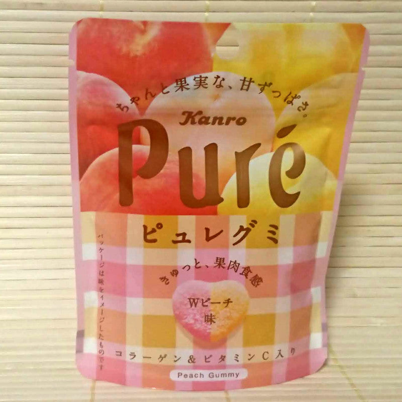 Puré Gummy Candy - Double Peach