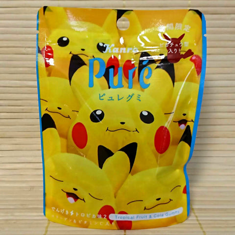 Puré Gummy Candy - Tropical Fruit & Cola (Pikachu)