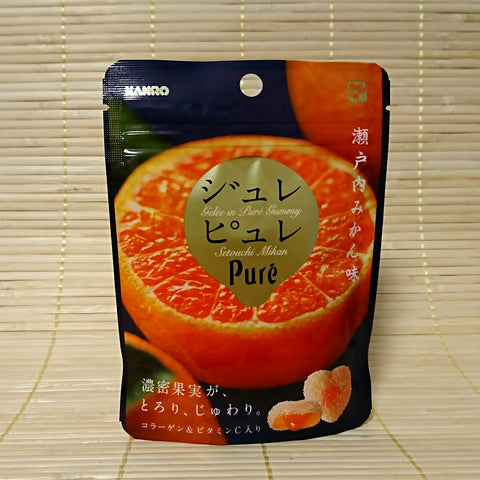 Puré Gummy Deluxe Candy - Setouchi Orange Jelly