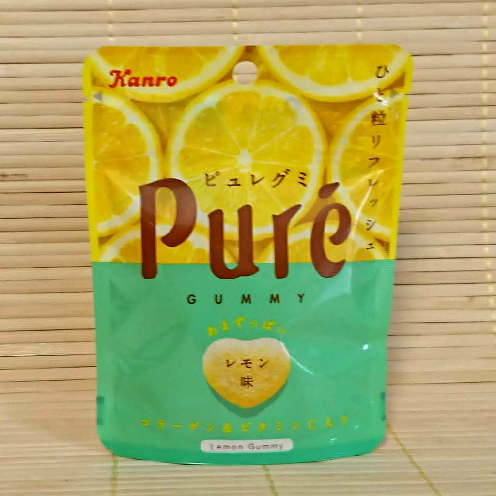 Puré Gummy Candy - Lemon