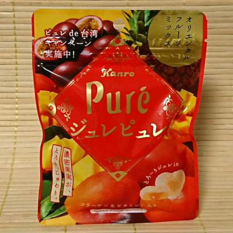 Puré Gummy Candy - Tropical Mixed Fruit