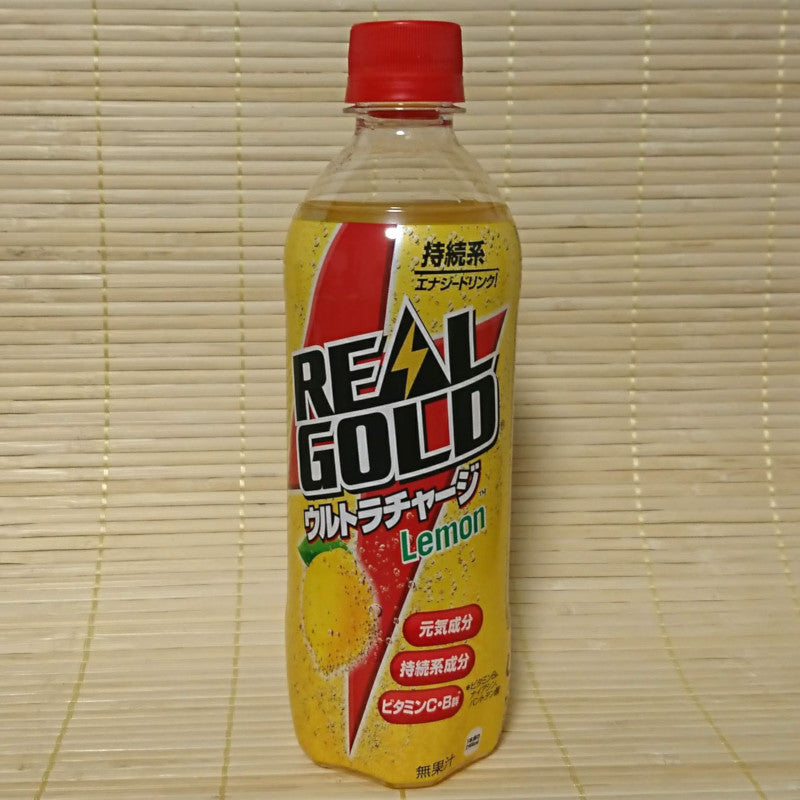 Real Gold LEMON - Energy Soda