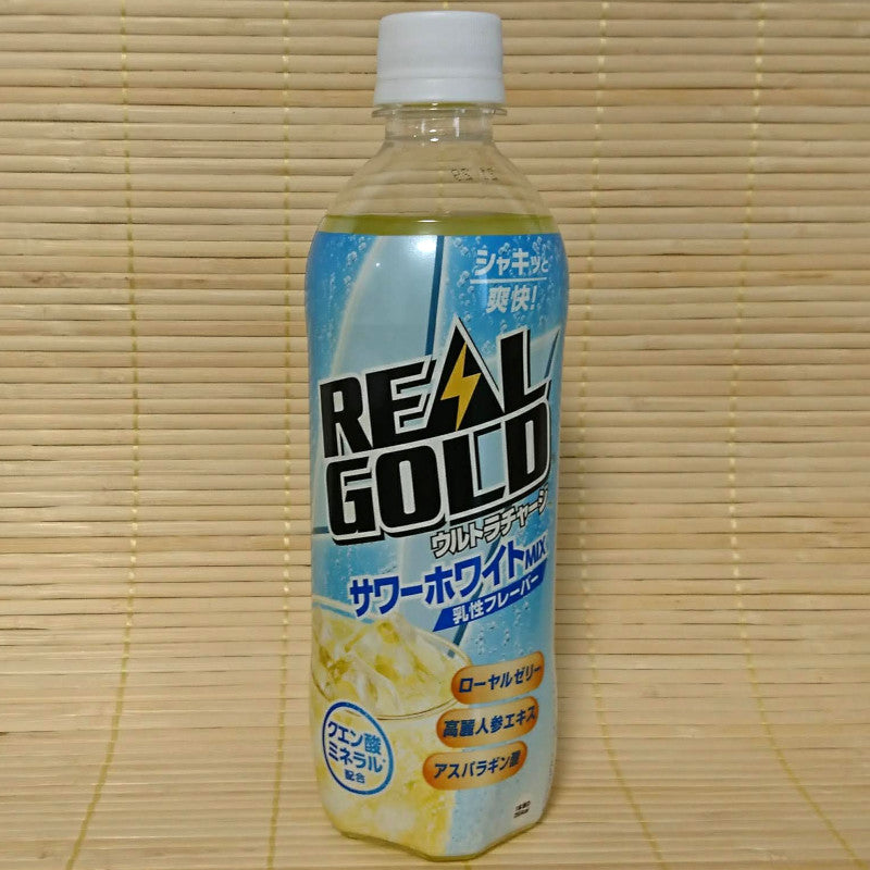 Real Gold Ultra Charge - Sour White Energy Soda