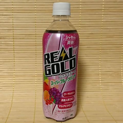 Real Gold - Super Fruits Punch Soda
