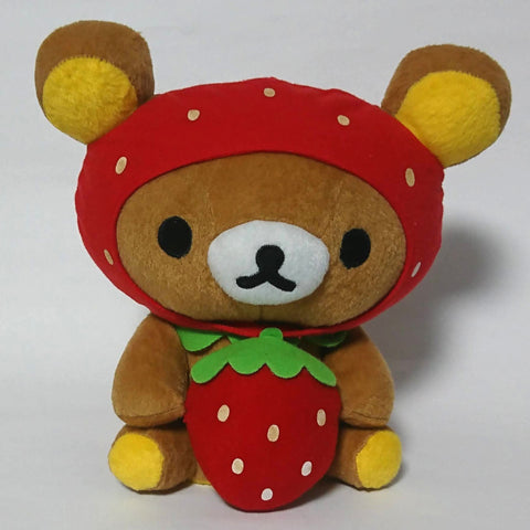 zz-- Rilakkuma - Plush Ichigo Coin Bank --zz