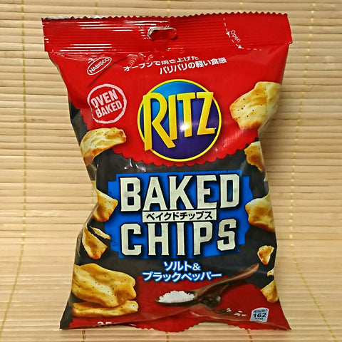 Ritz Baked Chips - Salt and Black Pepper
