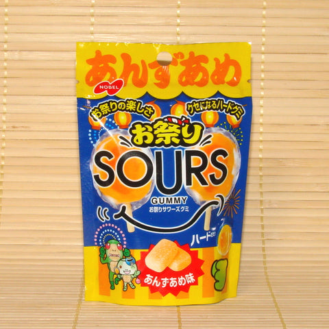 SOURS Gummy Candy - Anzu Apricot