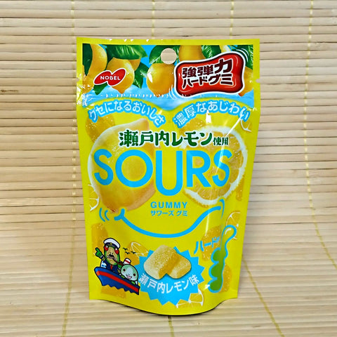 SOURS Gummy Candy - Setouchi Lemon