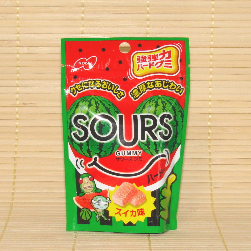 SOURS Gummy Candy - Watermelon