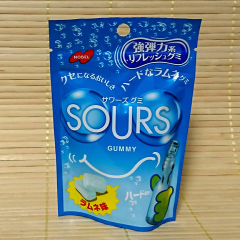 SOURS Gummy Candy - Ramune Soda