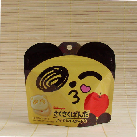 Saku Saku Panda Cookies - Apple Custard (Foil Pack)
