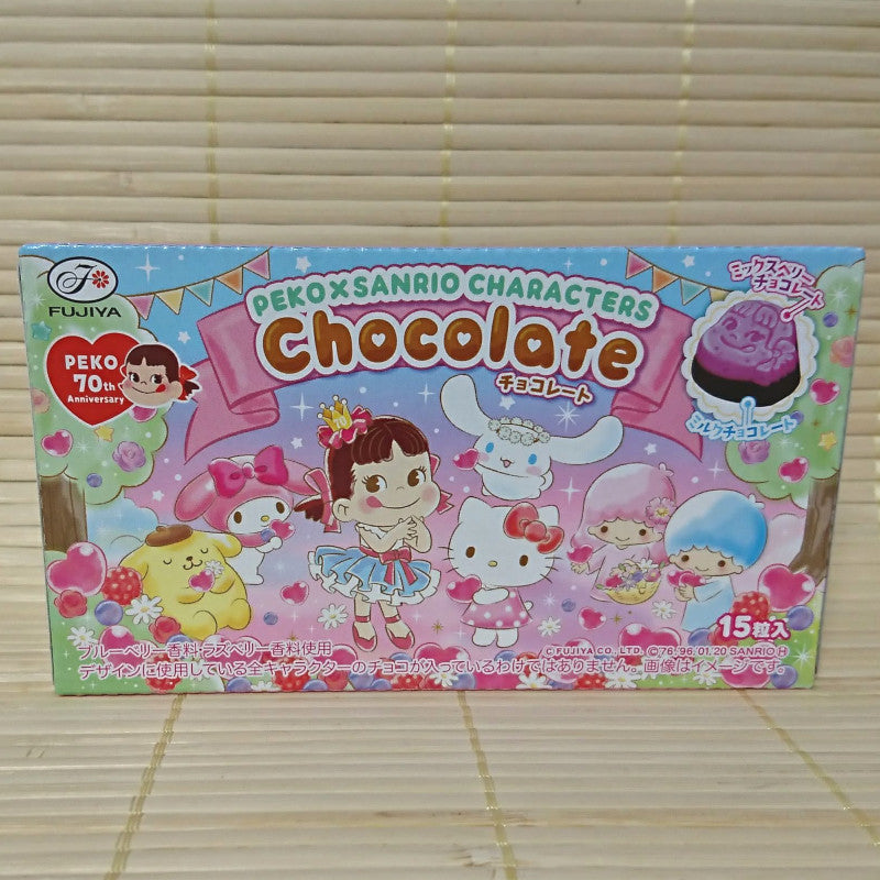 Peko x Sanrio Character - Strawberry Chocolate