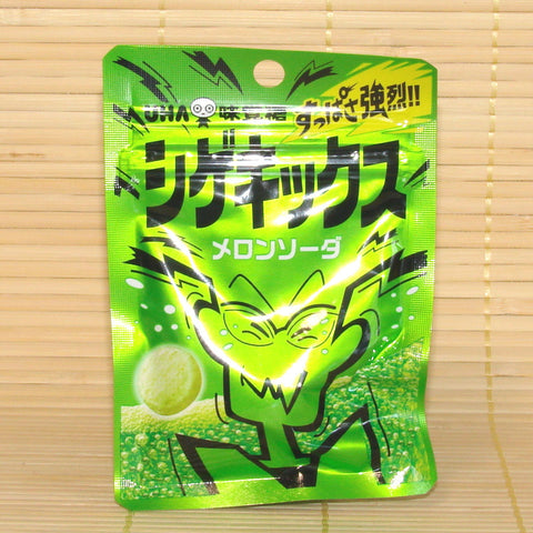 Shigekix Super Sour Candy - Melon Soda