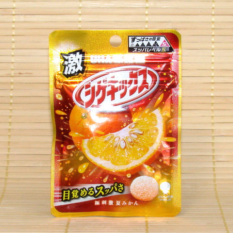 Shigekix Super Sour Candy - Sour Orange