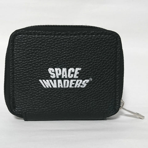 zz-- Space Invaders - Zip Up Coin/Card Holder --zz