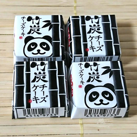 Tirol Chocolate - Panda Black Cheesecake (4 mini pieces)