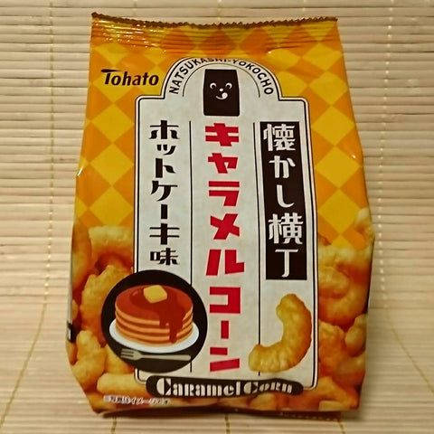 Tohato Caramel Corn - Hotcake Maple Butter