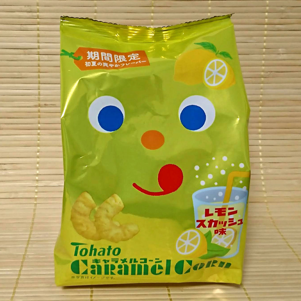 Tohato Caramel Corn - Lemon Soda