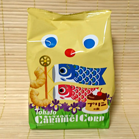 Tohato Caramel Corn - Pudding
