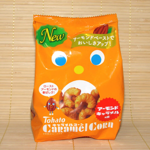 Tohato Caramel Corn - Roasted Almond