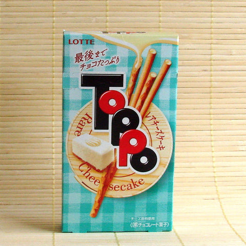 Toppo Filled Cookie Sticks - Cheesecake Chocolate