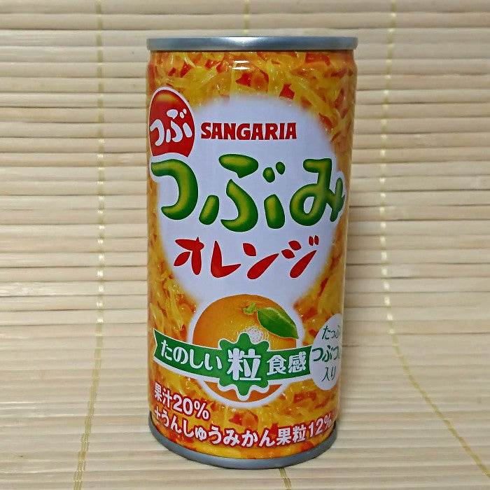 Tsubumi Orange Drink with Pulp (small can)