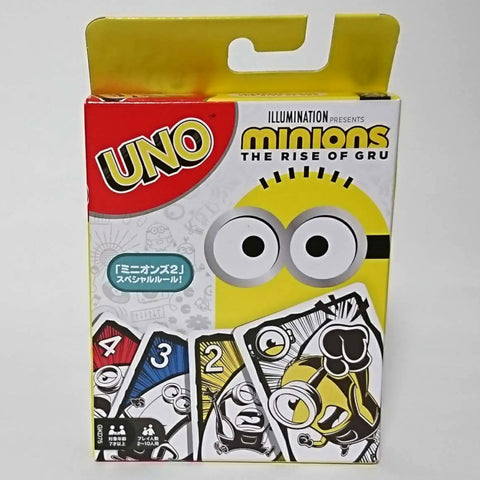 zz-- UNO Cards - Minions The Rise of Gru --zz