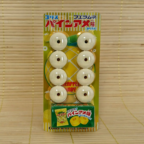 Whistle Candies with Toy - Pineapple
