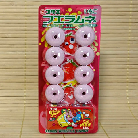 Whistle Candies with Toy - Strawberry