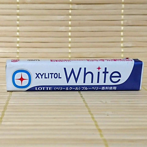 Xylitol White Chewing Gum - Blueberry