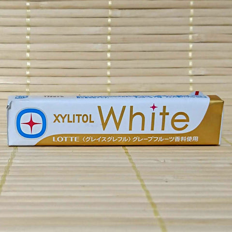 Xylitol White Chewing Gum - Grapefruit