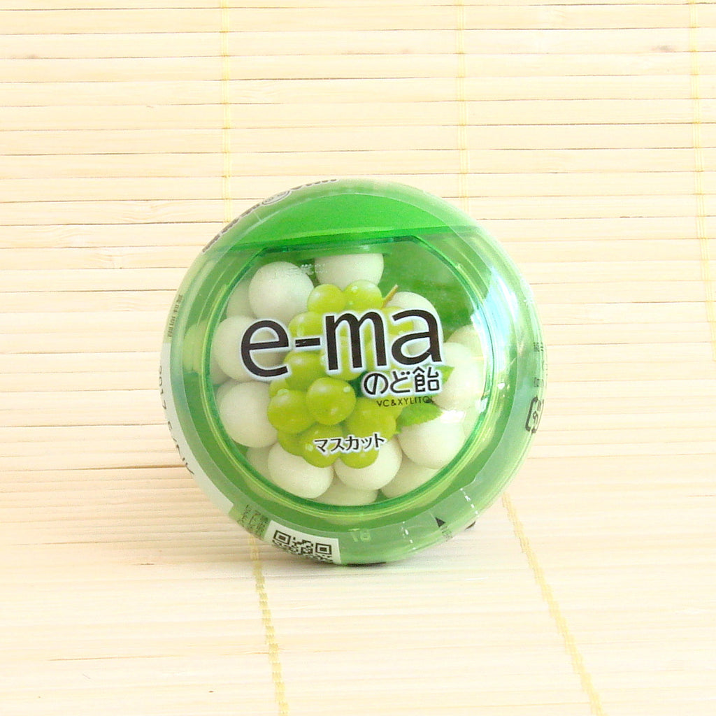 e-ma Candy Lozenges - Muscat (Green Grape)
