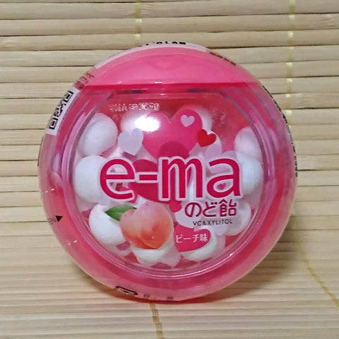 e-ma Candy Lozenges - Peach (Momo)