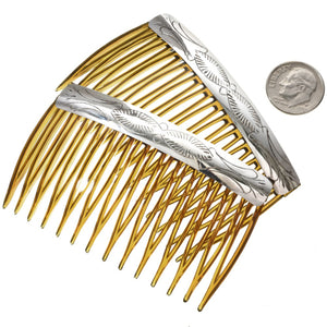 Sterling Silver Navajo Hair Comb