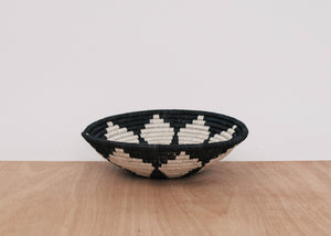 Large Black + White Hope Bowl