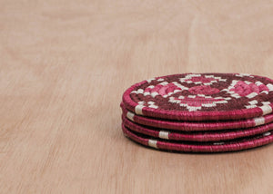 Berry Blend Tribal Coaster Set