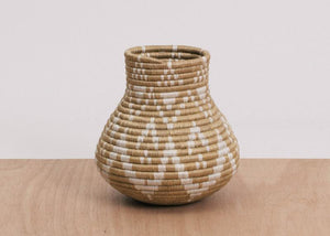 Large Chaco Canyon Hand Woven Vase