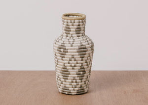 Diamond of the Desert Hand Woven Vase