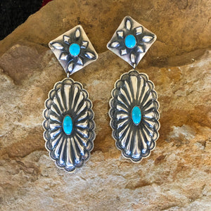 The Elyse Classic Concho Earrings