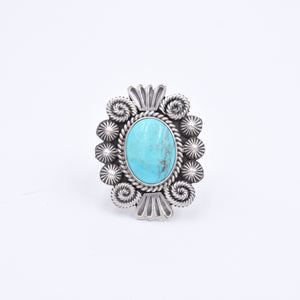 Michael Calladitto Turquoise Ring