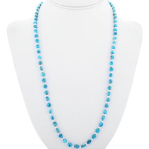 Sonora Beaded Turquoise Necklace