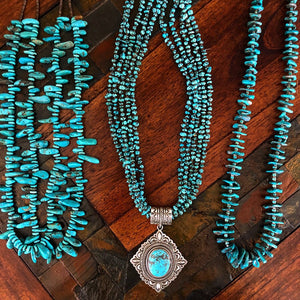 Harold Joe Turquoise Necklace Set