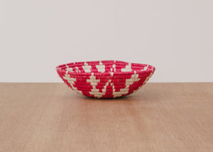 Small Ring of Fire Hand Woven Basket